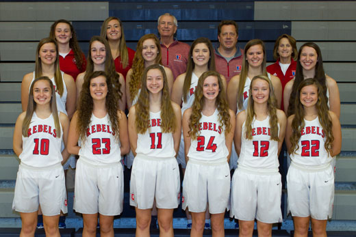 Varsity Girls Basketball Team