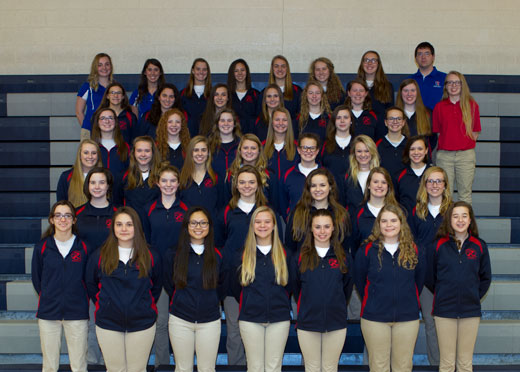 Girls Swimming & Diving Team
